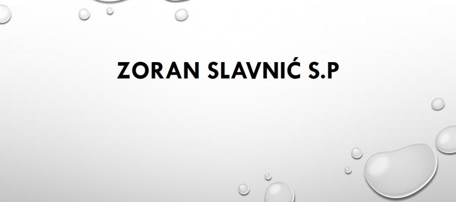 Zoran Slavnić s.p