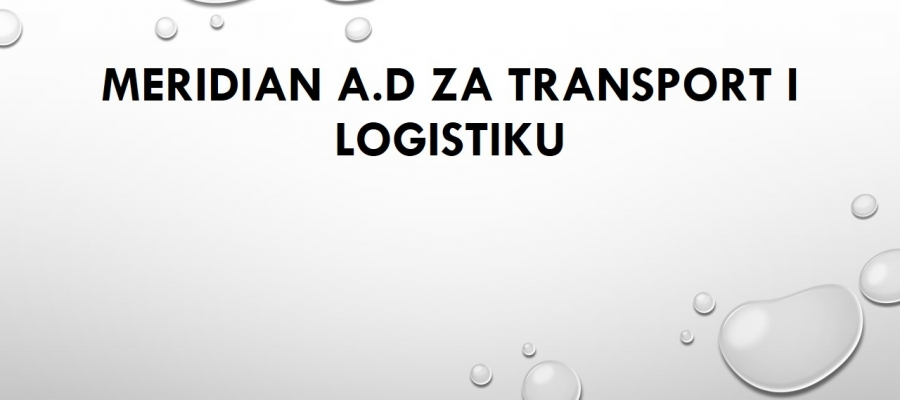 Meridian a.d za transport i logistiku