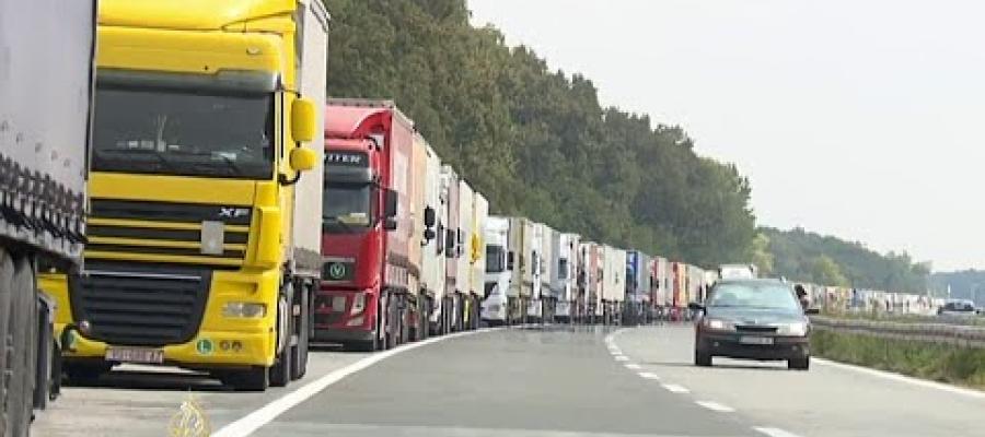 Duge kolone kamiona na granici odlaze u prošlost